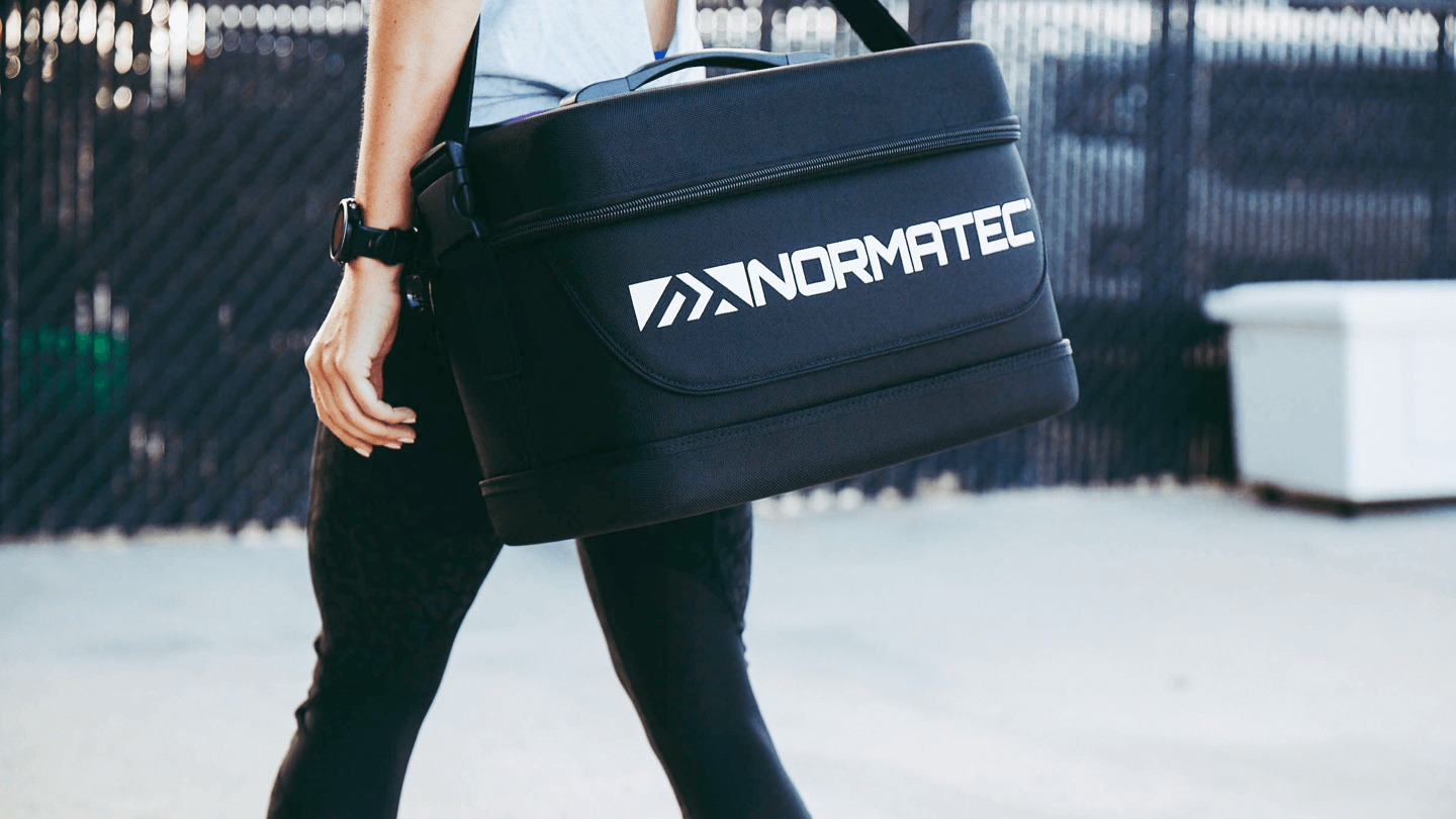 Normatec Carry Case Lifestyle Rehabzone Singapore