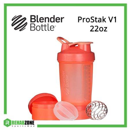 BlenderBottle ProStak V1 Coral Frame Rehabzone Singapore